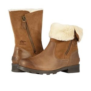 NWT SOREL camel brown boots size 8